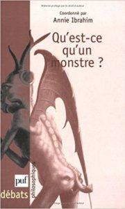 Couverture du livre Qu'est-ce qu'un monstre ?