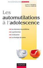 couverture du livre Automutilation à l'adolescence
