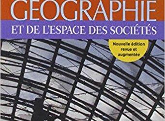 Quel livre de base me conseilleriez-vous pour pouvoir voir des choses fondamentales sur le sujet de territoire et géographie en général ?