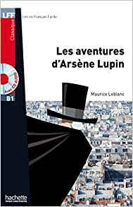 couverture du livre Les aventures d'Arsène Lupin