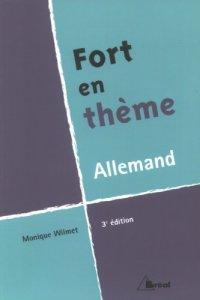 couverture du livre Fort en thème allemand