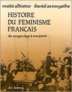 couverture du livre Histoire du féminisme français