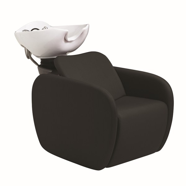 Lazaro Black Shampoo Chair