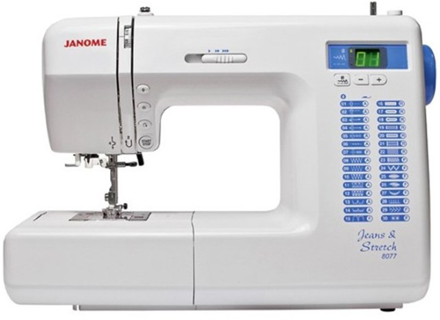 JANOME - JEANS & STRETCH 8077 Image