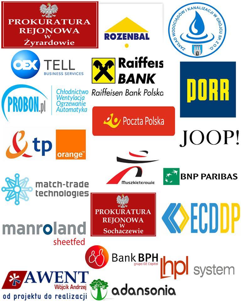 loga klientów