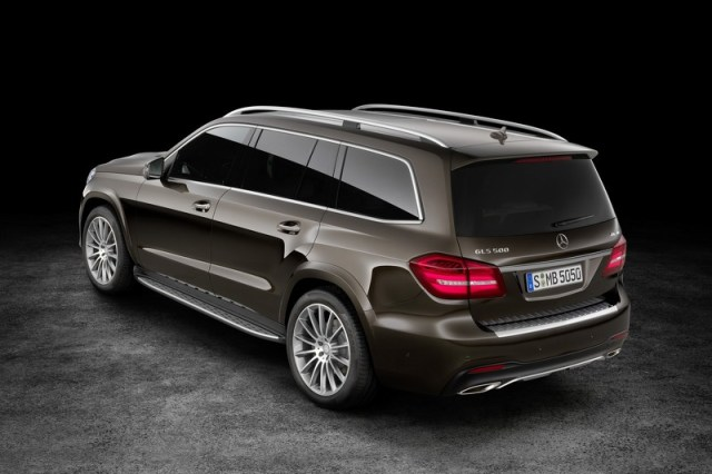 The new Mercedes-Benz GLS