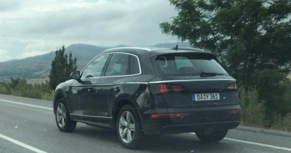 Second-gen-2017-Audi-Q5-rear-three-quarters-spy-shot