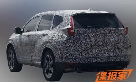 2017-honda-cr-v-rear-spied-in-china