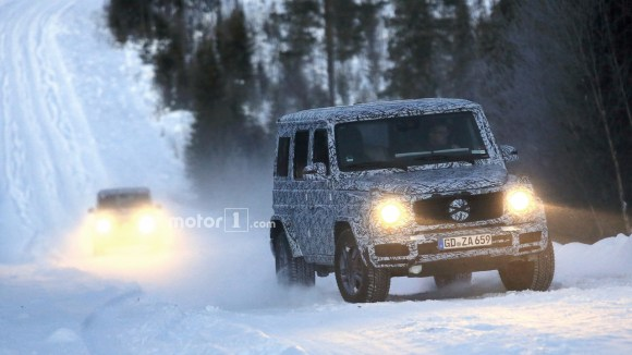 2018-mercedes-g-class-and-g63-spy-photo