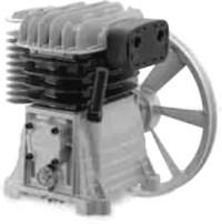 Tete De Compression 11 Bar Pour Compresseur 3 Cv Debit 23 M3 H