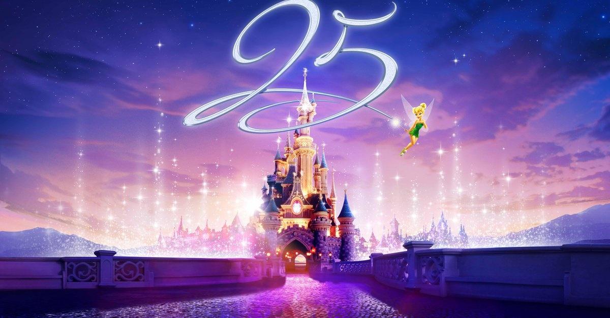 Le 26 mars, Disneyland soufflera ses 25 bougies !