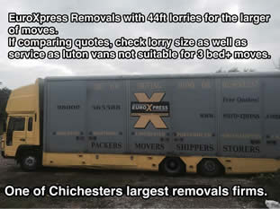 chichester removals trucks
