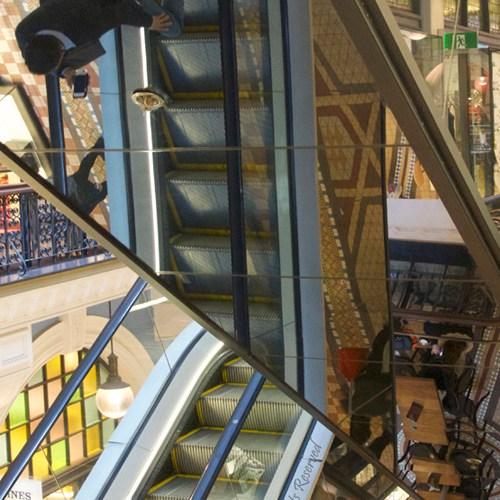 Escalators by Phil Warbuton
