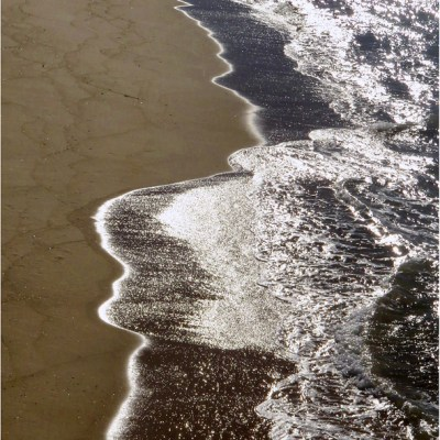 Bar Beach Abstract by Brian Gunter