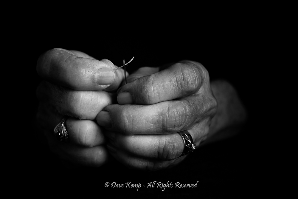 Busy hands by Dave Kemp