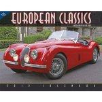 European Classic Cars Deluxe Wall Calendar 2012