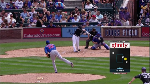 Corey Dickerson RBI vs Cubs