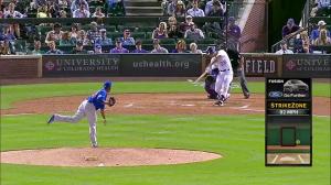 Nolan Arenado Solo HR vs Cubs