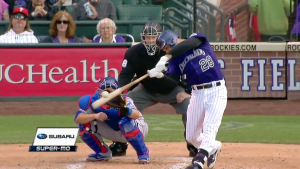 Nolan Arenado Two-Run Homerun vs Cubs