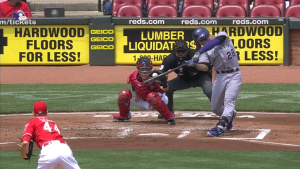 Nolan Arenado Three Run HR at Reds