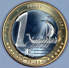 Unimmaginaria moneta da un euro svedese