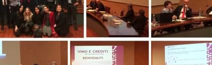 """""""Vino e Crediti"""", il primo evento dedicato alla gestione dei crediti nel settore vitivinicolo"""