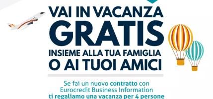 Vai in vacanza gratis (promo valida sino al 31/12/2017)