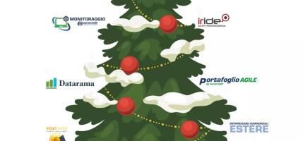 Auguri di Buon Natale e di un Prospero Anno Nuovo
