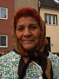 image of Roma or Gypsy woman