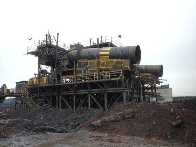 Decommission and dismantling of coal washing plant