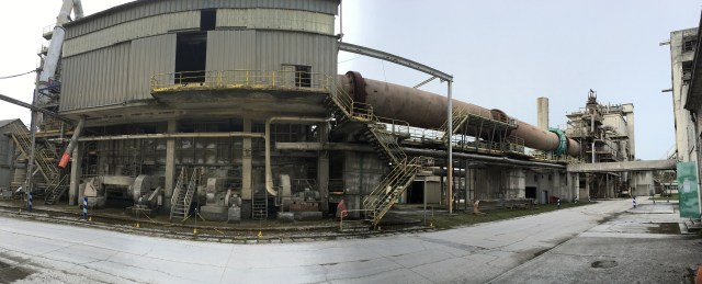 Decommissioning of cement works, France