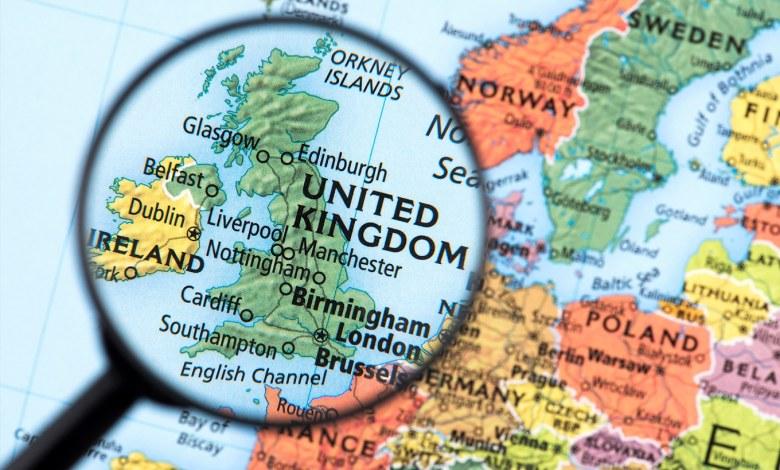países que falam inglês na Europa
