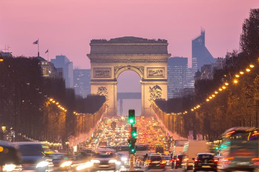 aluguel de carro em Paris