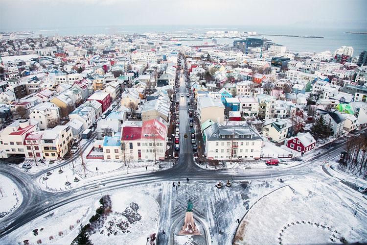 inverno islandês