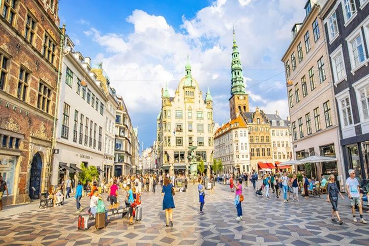 Melhores países para trabalhar e morar Dinamarca
