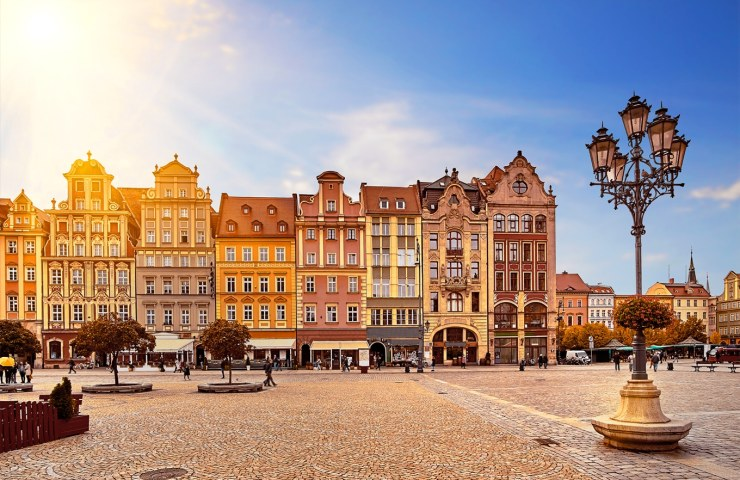 morar na Polônia