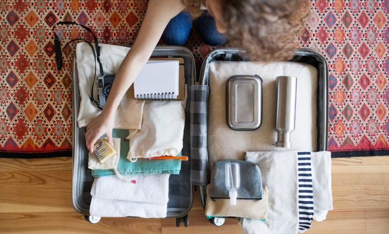 Método Marie Kondo para arrumar mala