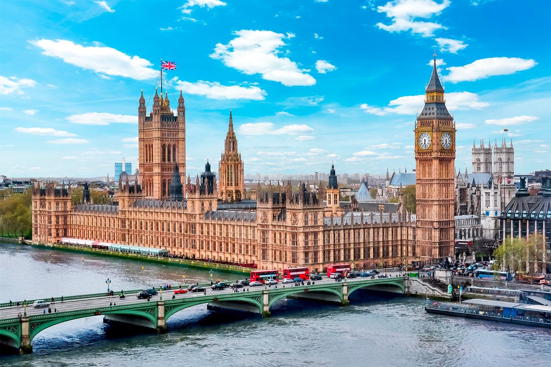 morar no Reino Unido