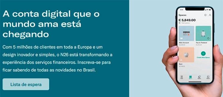 N26 no Brasil