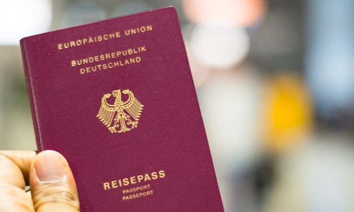 passaporte cidadania alemã