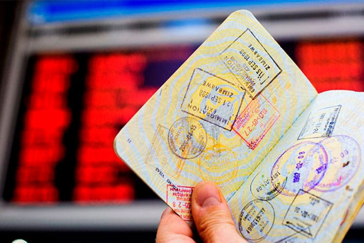 visto Itália passaporte