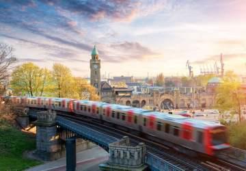 Viajar de trem na Alemanha