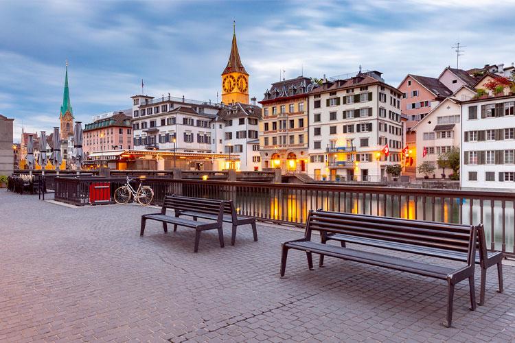 cidade de Zurich Suíça