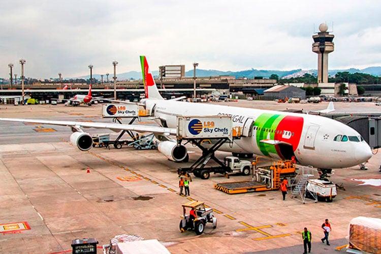 comprar passagem para Portugal aeroporto
