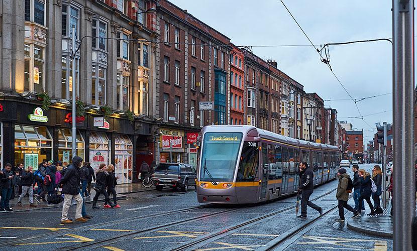 Como morar na Irlanda Dublin