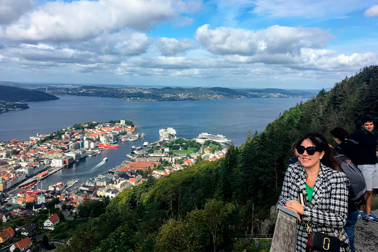 Lidiane Soares Noruega em Bergen