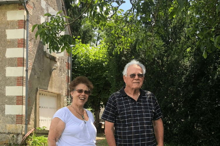 Aurea e marido Chateau