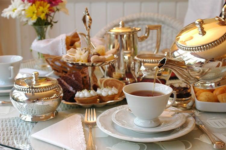 ingleses bebem muito chá