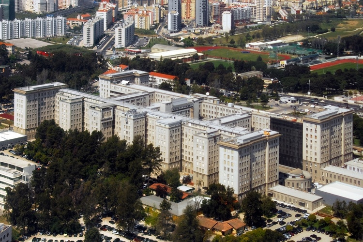 Hospital em Portugal Santa Maria