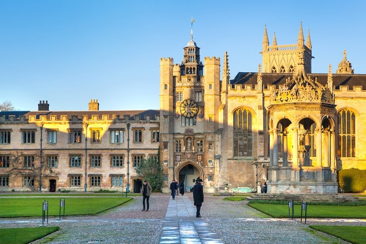 Melhores universidades da Europa Cambridge